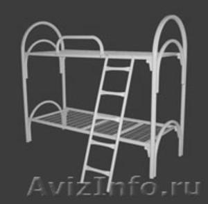кровати металлические, кровати одноярусные и двухъярусные для турбаз, общежитий - Изображение #3, Объявление #695598
