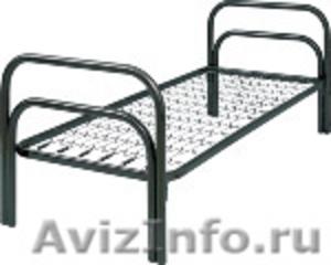 кровати металлические для гостиницы, кровати для рабочих, кровати для турбаз - Изображение #7, Объявление #905277