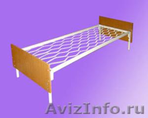 кровати металлические для гостиницы, кровати для рабочих, кровати для турбаз - Изображение #2, Объявление #905277