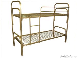 кровати металлические для гостиницы, кровати для рабочих, кровати для турбаз - Изображение #5, Объявление #905277