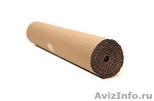 Двухслойный гофрированный картон в рулоне 10м  - Изображение #2, Объявление #1384705