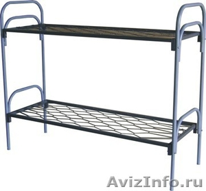 Кровати металлические двухъярусные для казарм, кровати для больниц. оптом - Изображение #3, Объявление #1478955