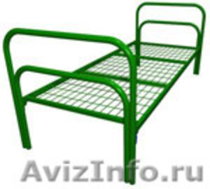 Кровати металлические двухъярусные для казарм, кровати для больниц. оптом - Изображение #2, Объявление #1478955