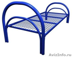 Кровати металлические двухъярусные для казарм, кровати для больниц. оптом - Изображение #1, Объявление #1478955