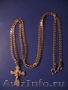 продам золотой Крестик 585 пр. с  биркой