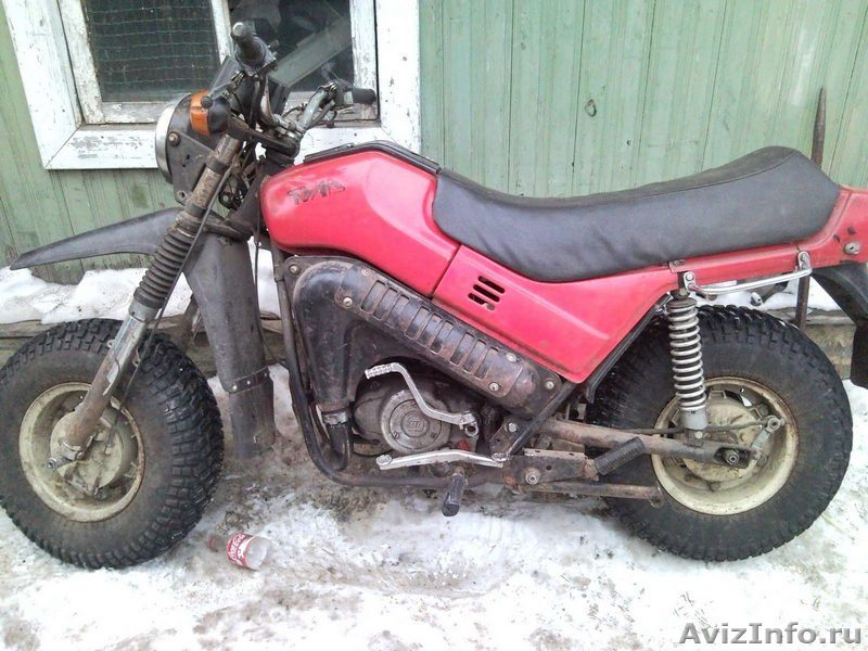 Мотоцикл тула на ходу без документов