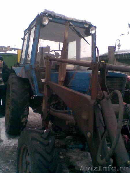 Трактор МТЗ-82.1 с КУНом Б/У продажа.