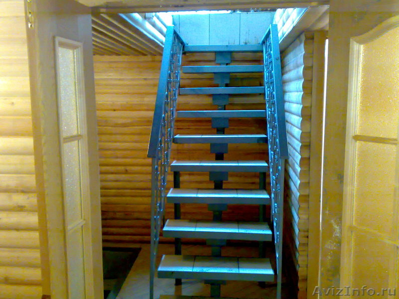 Лестница деревянная в гараж своими руками
