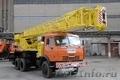 Автокран 25 тонн КС 55713-1 с гуськом КАМАЗ-65115 Галичанин
