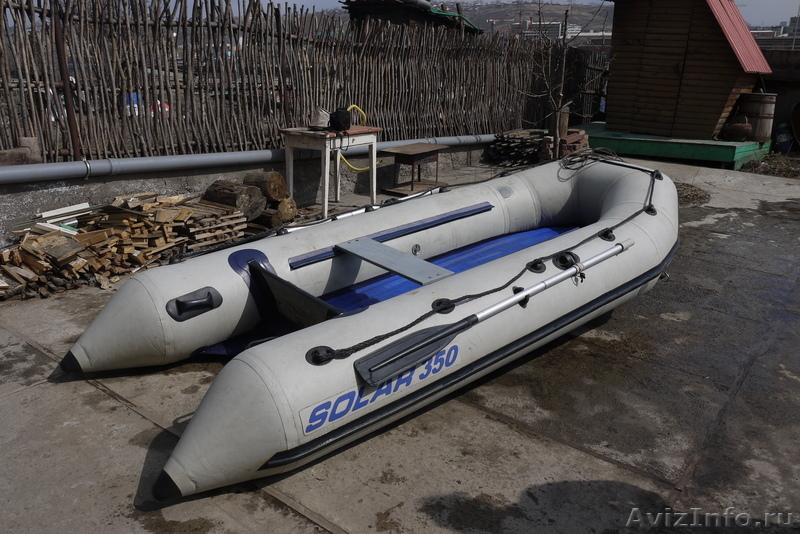 Лодки пвх бу с мотором в красноярске