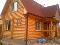 Продам дом из оцилиндрованного бревна 80 м2 в живописном месте п.Элита