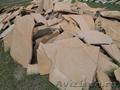 Натуральный природный камень песчаник плитняк