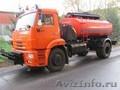 Дорожная универсальная машина КО-806-01 (цистерна,  щетка,  отвал) на шасси КАМАЗ