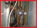 Установка счётчиков воды. Ремонт медных водопроводных труб.