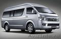 Прокат микроавтобуса бизнес-класса TOYOTA HIACE 2016г.в.